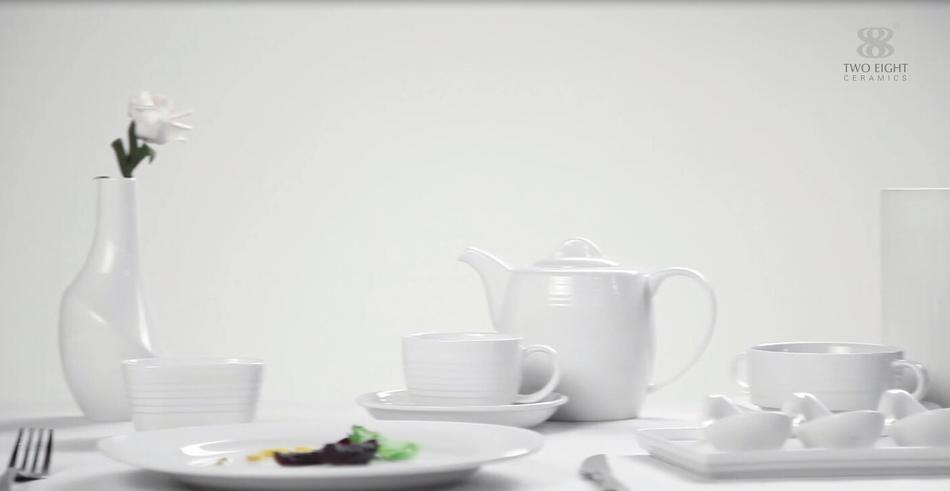 High-grade Hotel & restaurant tableware sets display