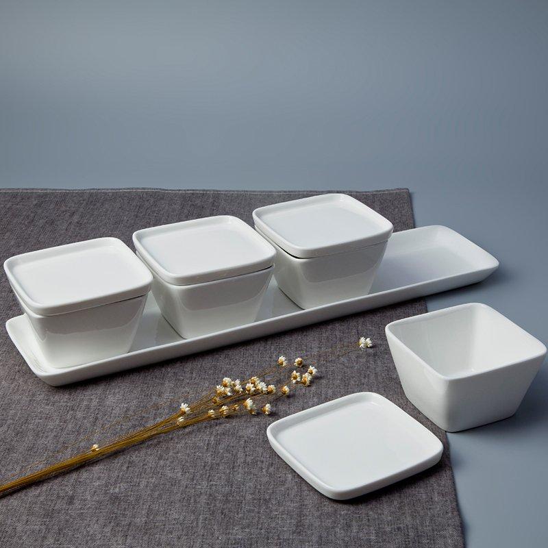 Two Eight Vietnamese Bone china Porcelain Dinnerware Accessories - FANG YUN SERIES 1 Porcelain Dinnerware Accessories image10