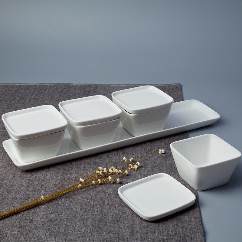 Vietnamese Bone china Porcelain Dinnerware Accessories - TA01
