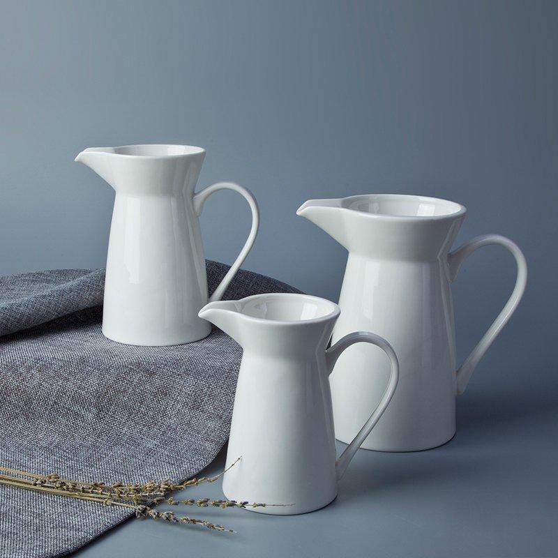 White Dinnerware Components Porcelain Dinnerware Accessories - TA08