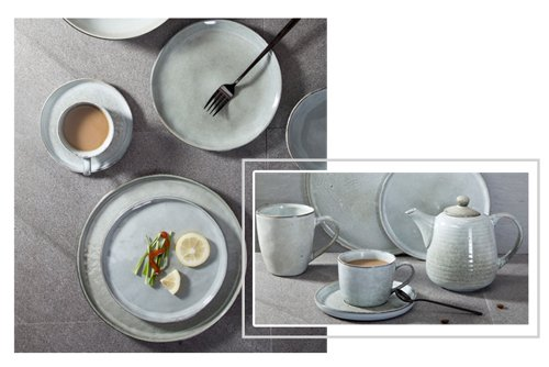 Two Eight blue and white porcelain company for hotel-1