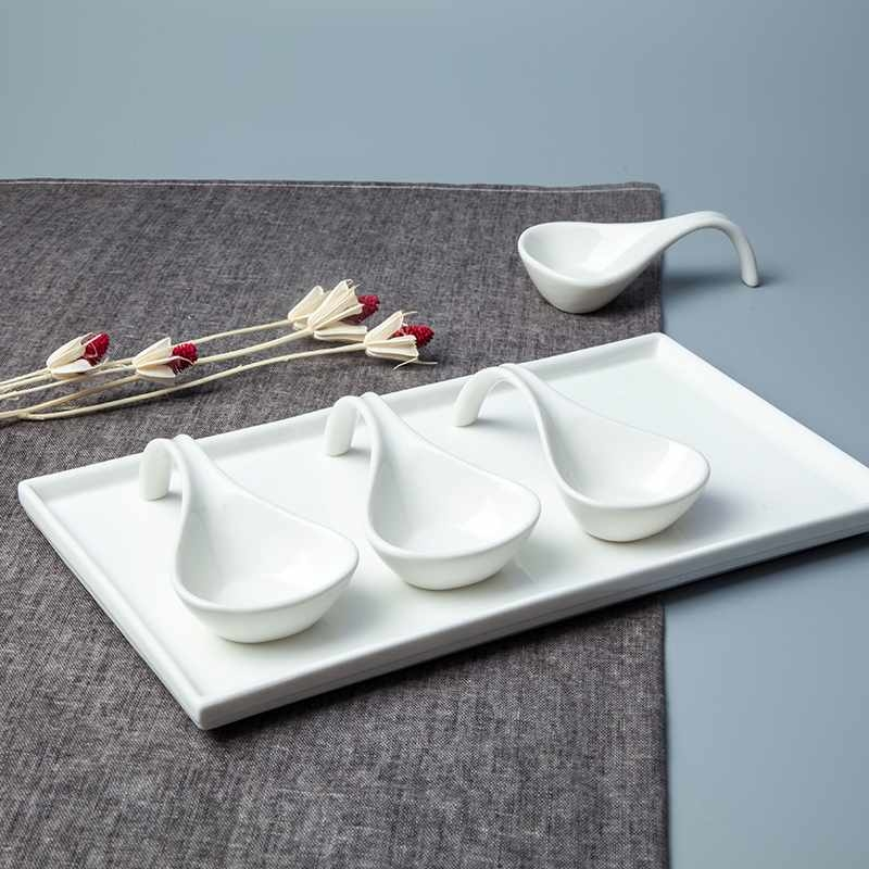 French Style Irregular Porcelain Dinnerware Accessories - TA03