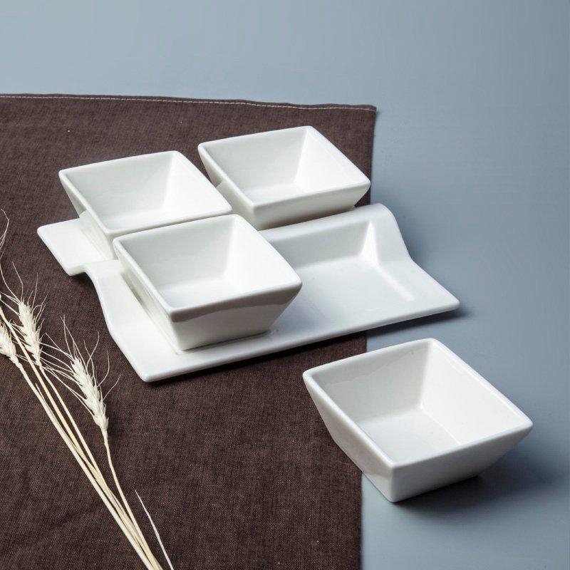 French Style Irregular Porcelain Dinnerware Accessories - TA03