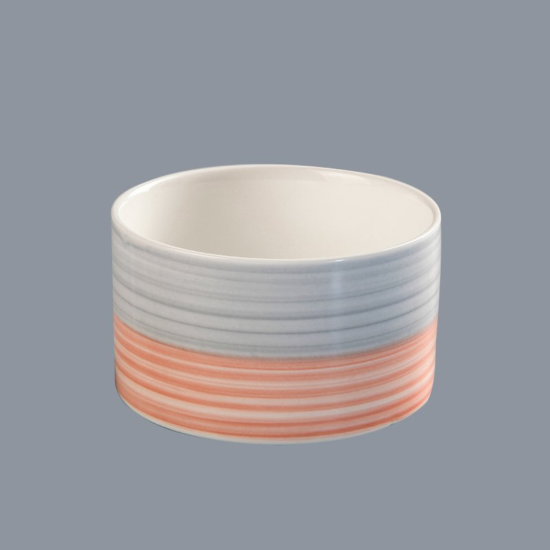 Two Eight durable cream colored porcelain dinnerware round for kitchen-20