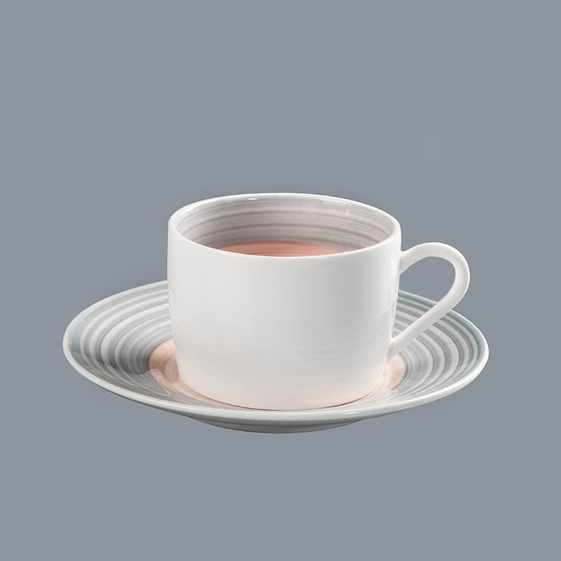 Two Eight durable cream colored porcelain dinnerware round for kitchen-25