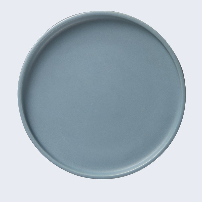 green solid color Two Eight 16 piece porcelain dinner set