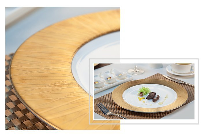 hotel mixed Two Eight fine white porcelain dinnerware