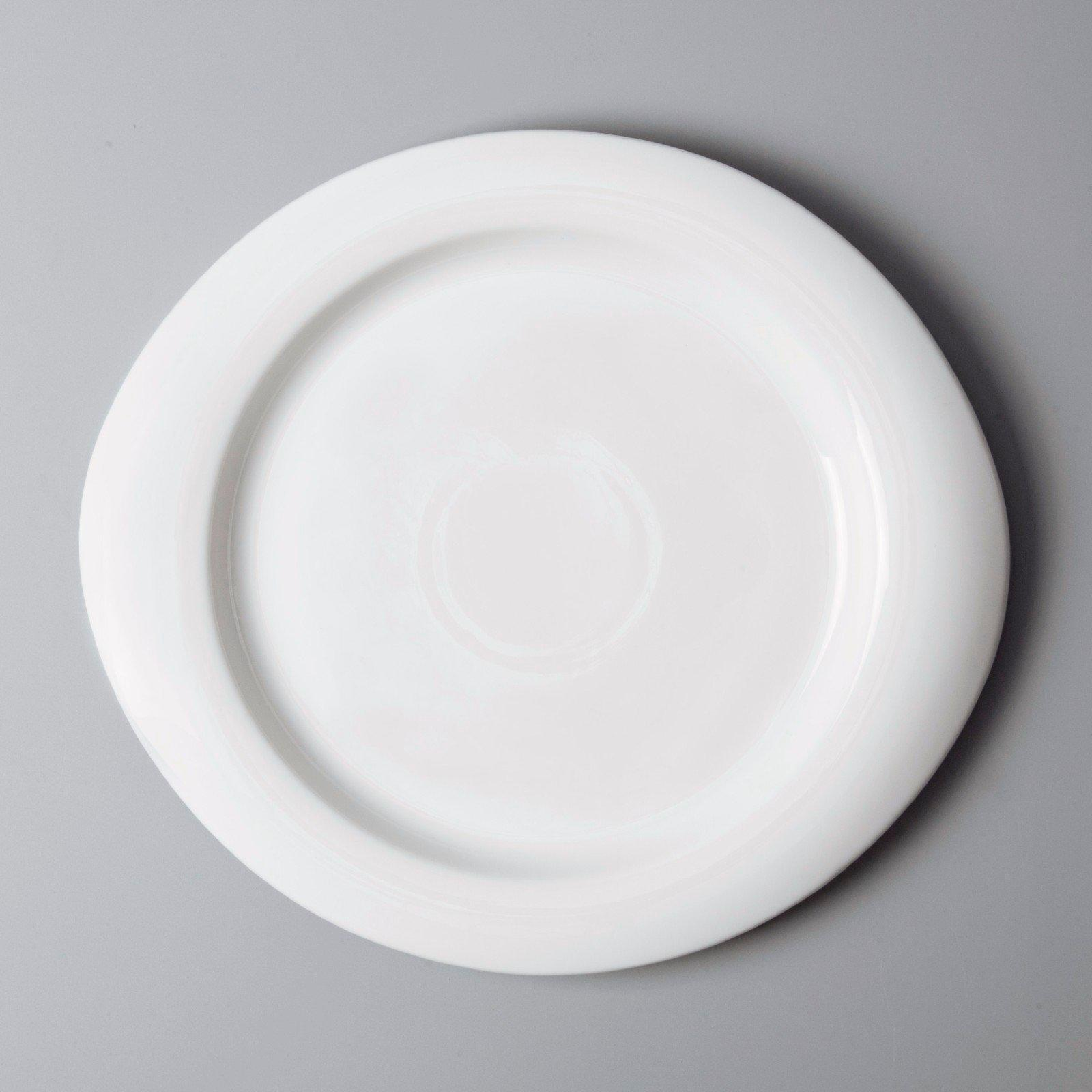 white porcelain tableware irregular white dinner sets Two Eight Brand