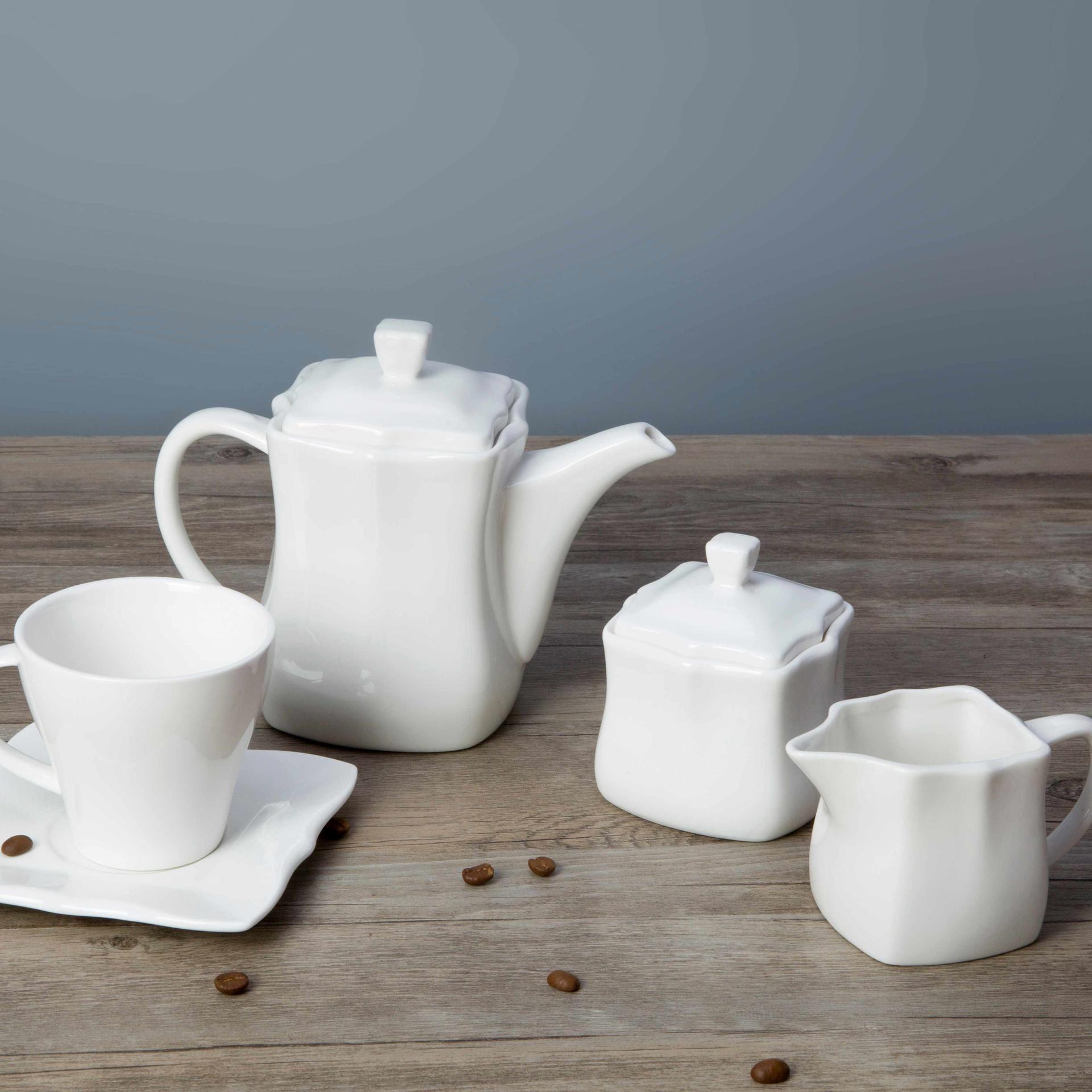 White square restaurant plates dinnerware sets - TW31