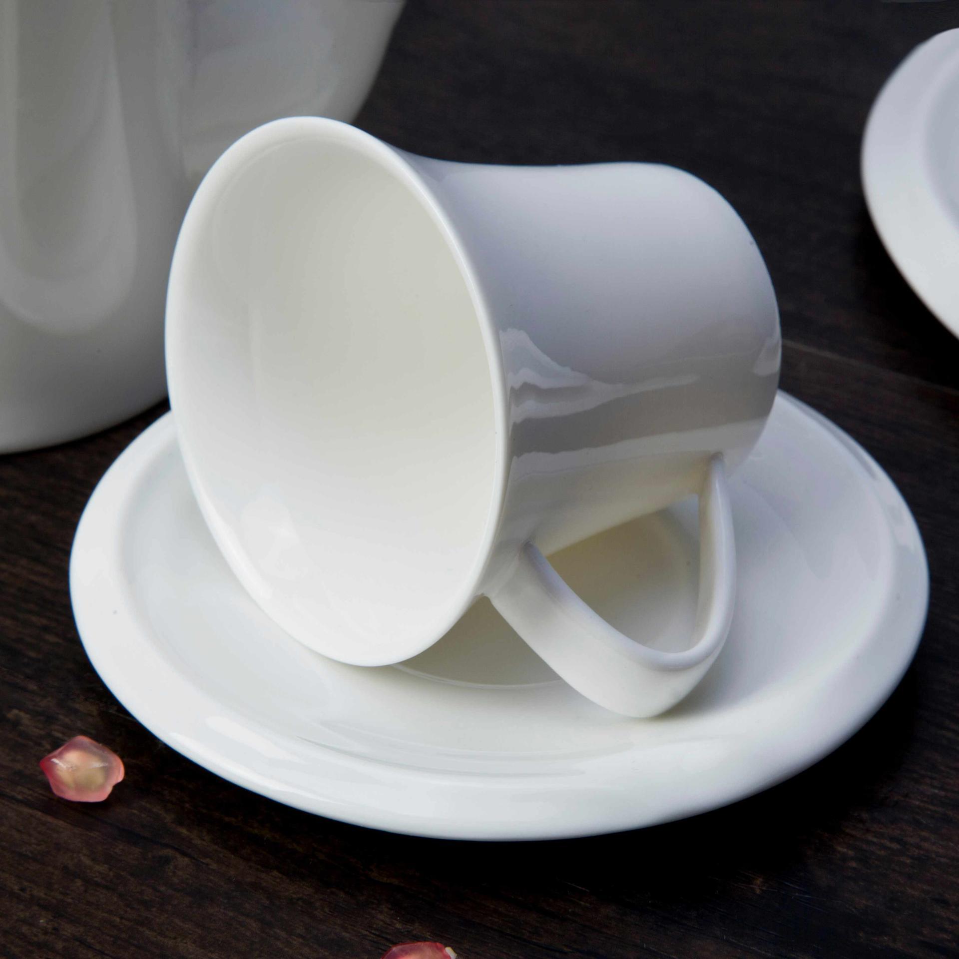 12 piece restaurant white porcelain dinner plates bulk - TW26