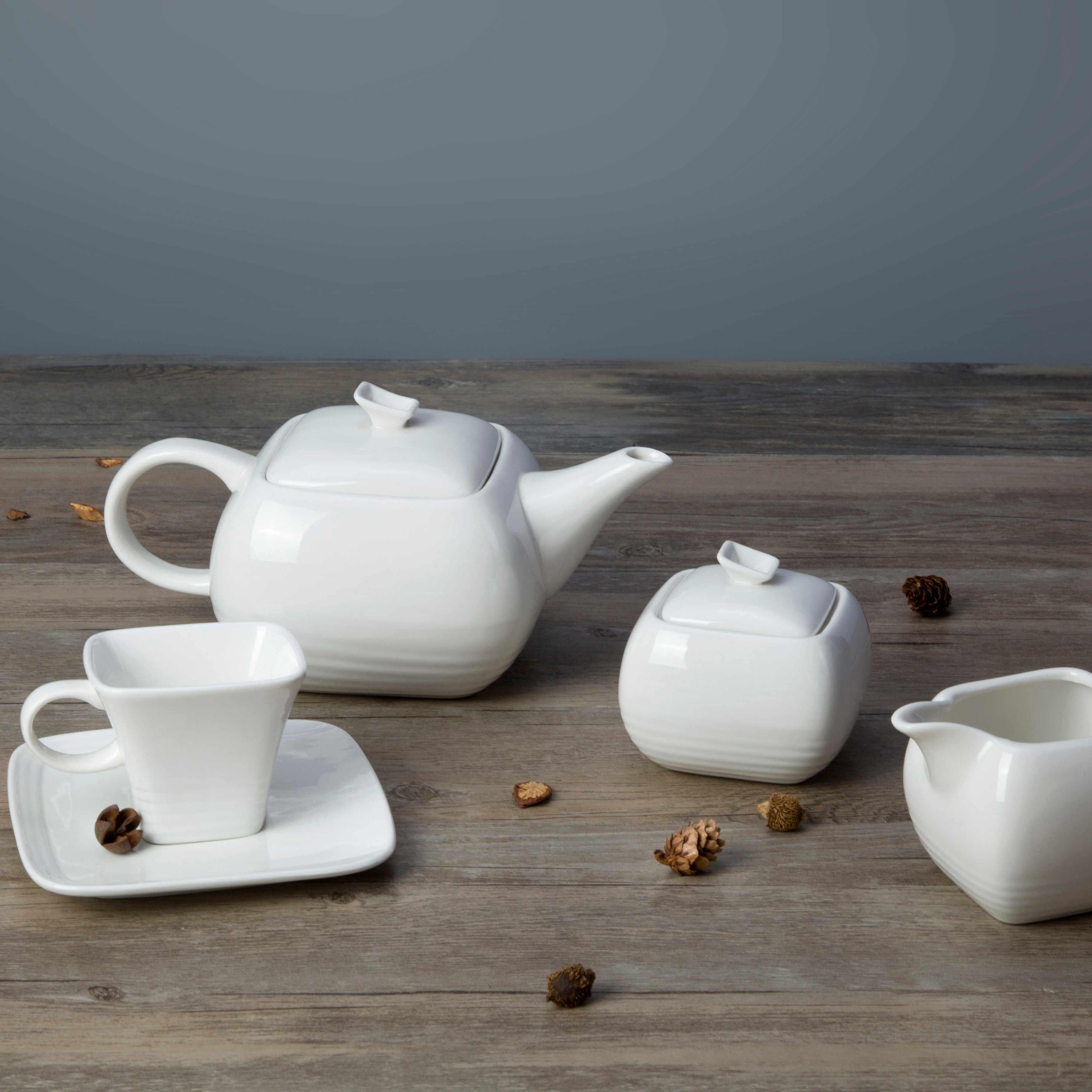 Two Eight-white bone china dinnerware ,white porcelain dish set | Two Eight
