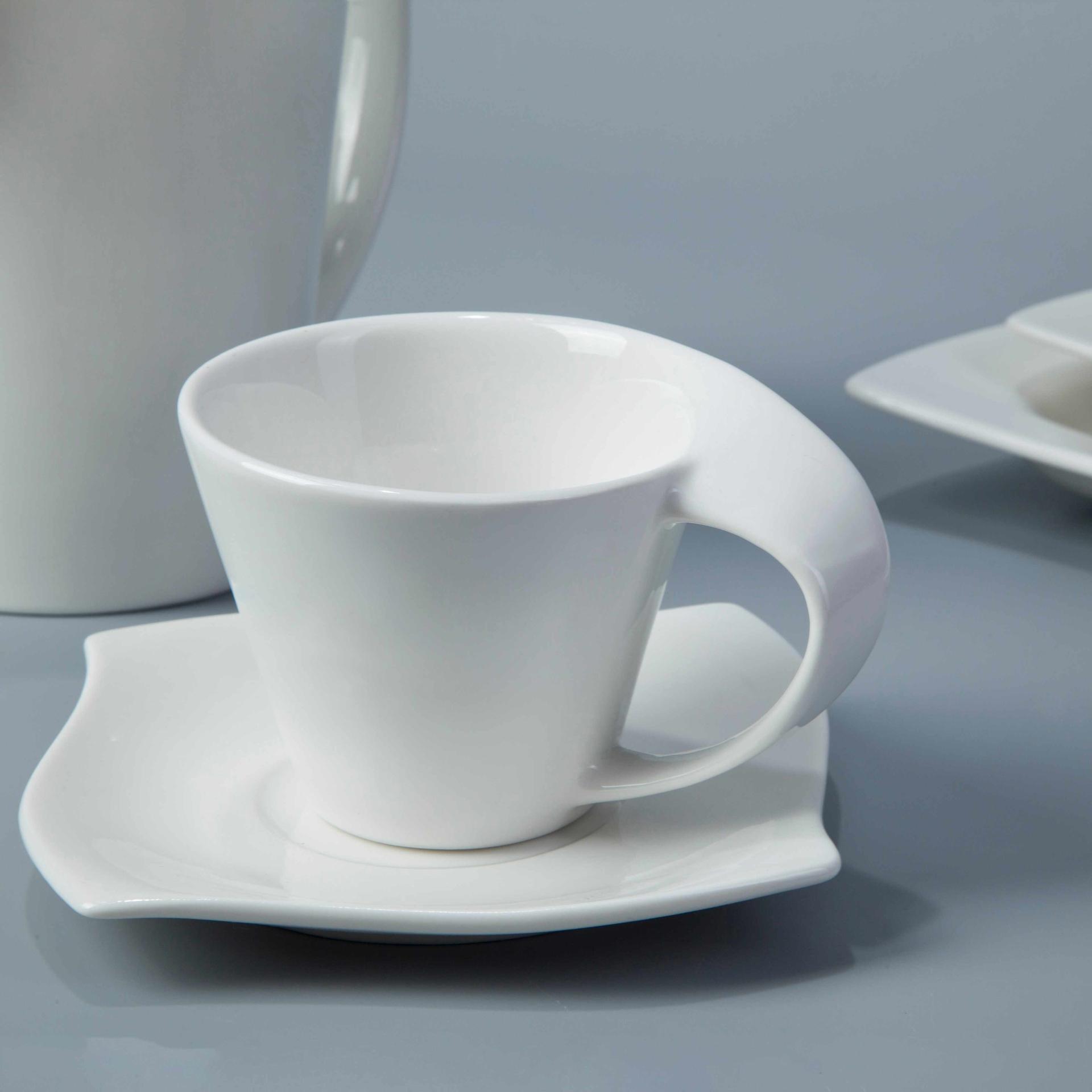 Contemporary White Porcelain Dinnerware Restaurant - TW16