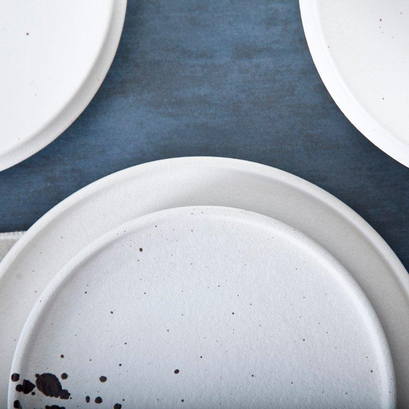 Durable White Modern Porcelain Dinnerware Set - TC22