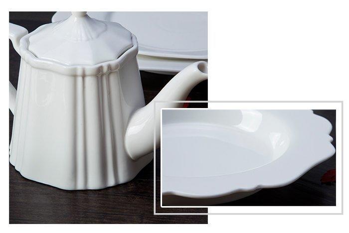 Two Eight Brand sample glaze plate white porcelain tableware