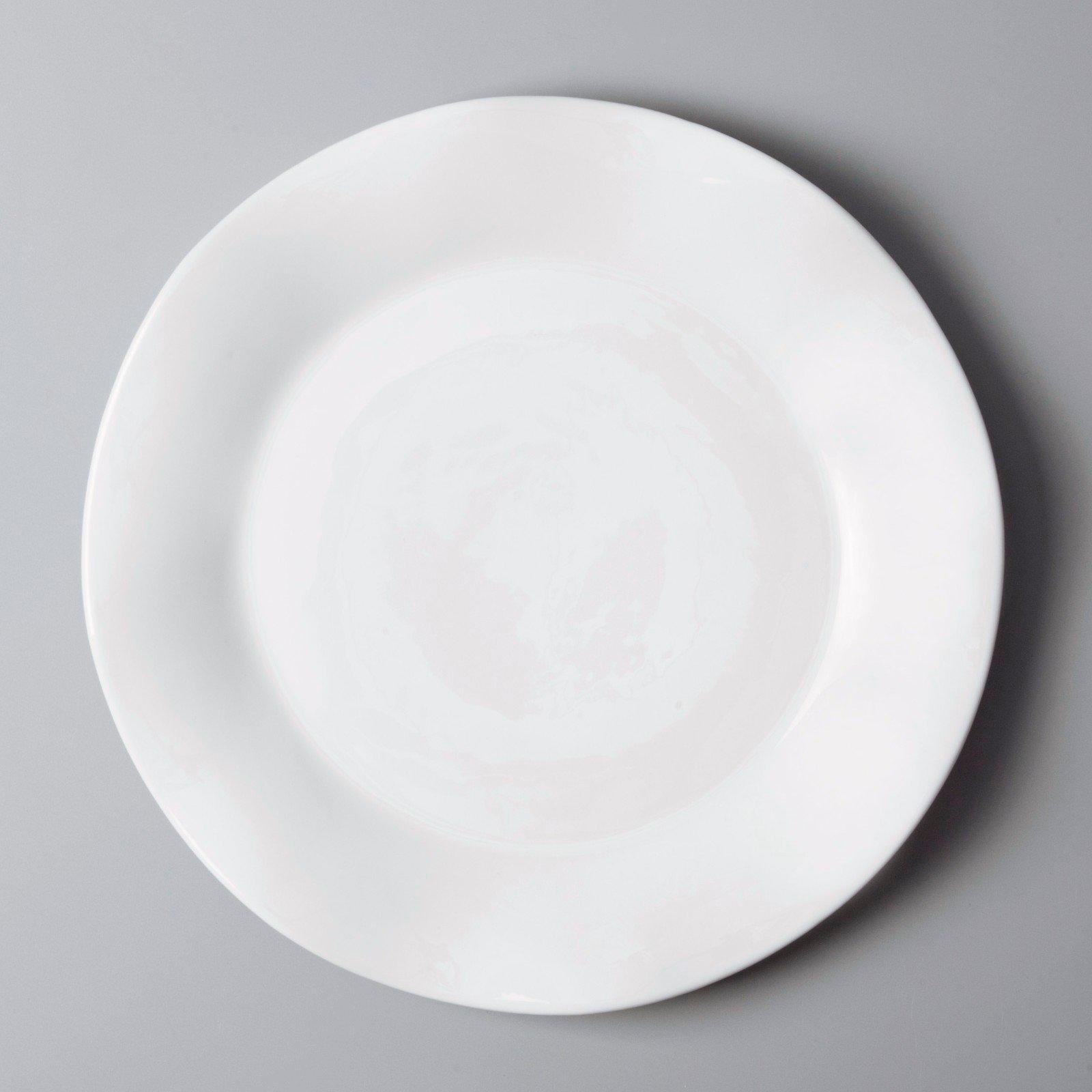 plate white dinner sets Two Eight white porcelain tableware