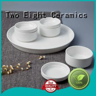 Two Eight Vietnamese cheap bone china dinnerware sets supplier for restaurant