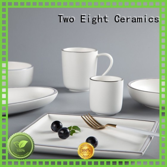 colored italian porcelain dinnerware manufacturer for dinning room Two Eight