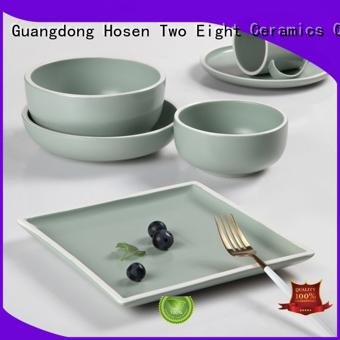 porcelain dinner set sale bone for hotel Two Eight