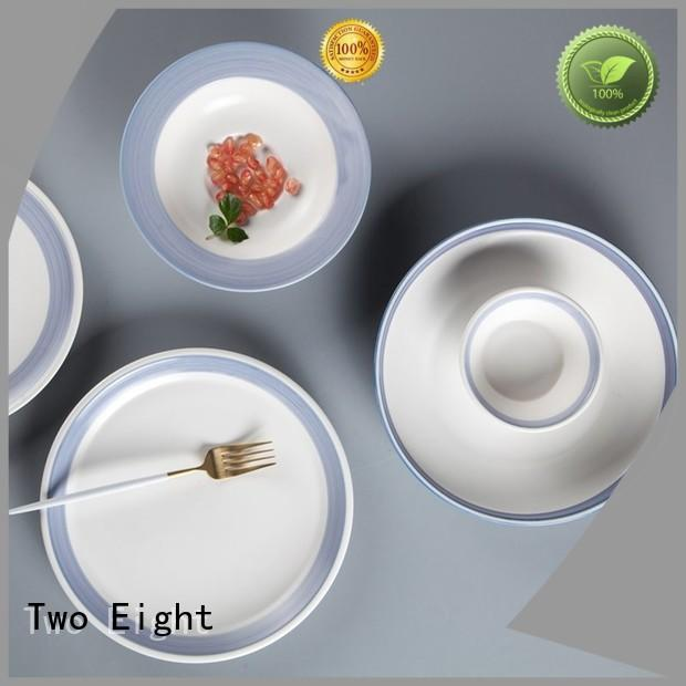 Two Eight solid restaurant crockery wholesale series for home