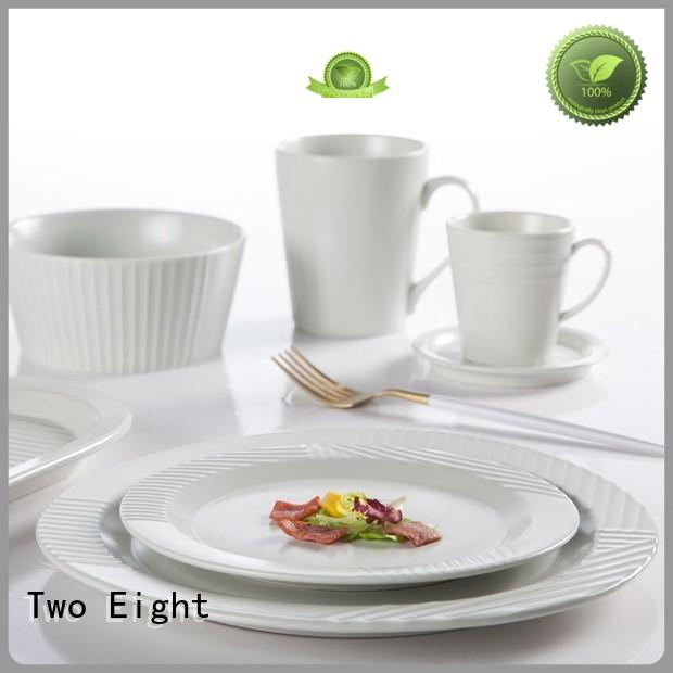 vintage quality china dinnerware embossed series for kitchen