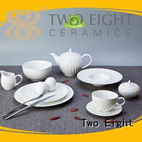 smooth german elegant white two eight ceramics Two Eight