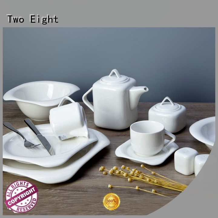 Two Eight Vietnamese cool restaurant plates series for dinning room
