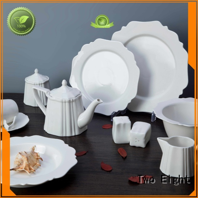 white porcelain tableware bing contemporary Two Eight Brand