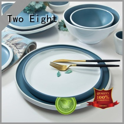 mixed blue french two eight ceramics Two Eight Brand
