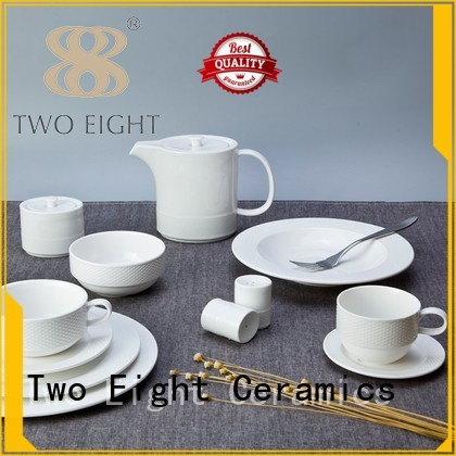 french round vietnamese OEM two eight ceramics Two Eight