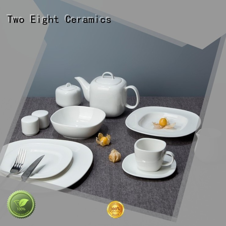 stock cheap porcelain dinner plates customized for kitchen Two Eight
