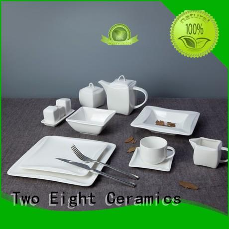 square hotel dinnerware suppliers rim customized for bistro