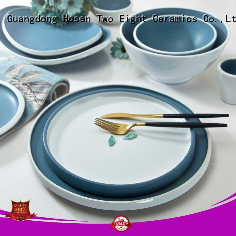colorful restaurant grade plates german style series for kitchen