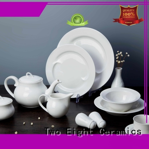 Two Eight royal hotel dinner set customized for bistro
