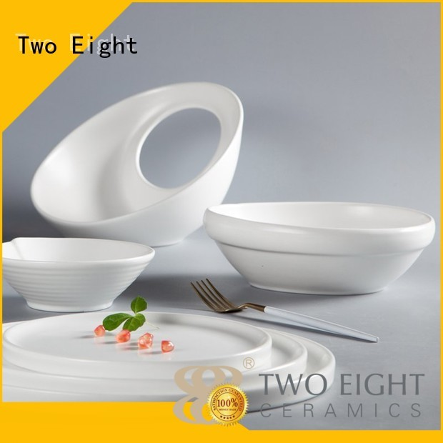 16 piece porcelain dinner set french smooth Two Eight Brand
