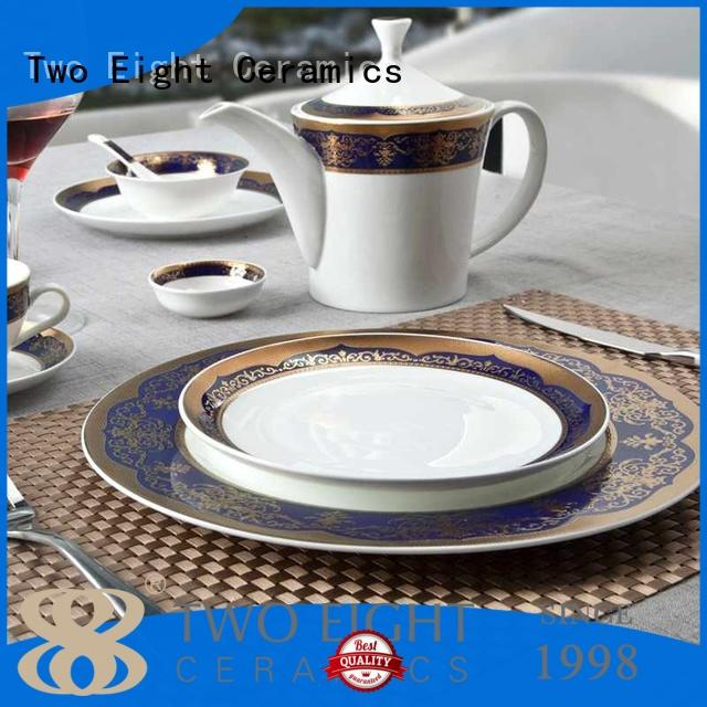 Two Eight hotel restaurant chinaware supplier wholesale for bistro