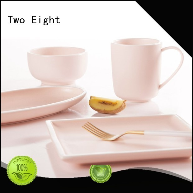 open smooth two eight ceramics Two Eight Brand
