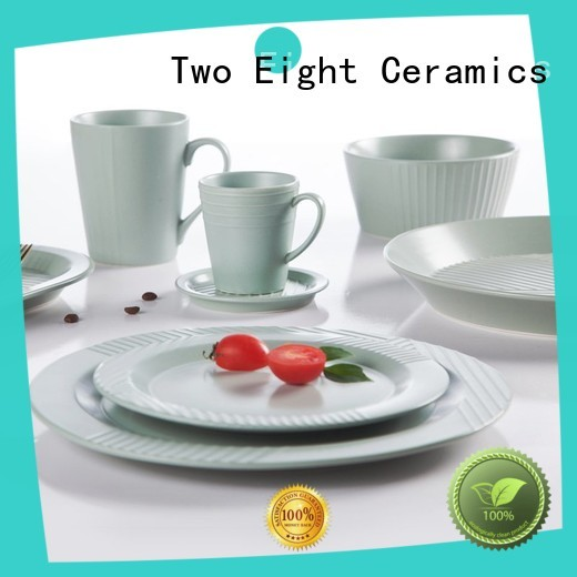 yellow porcelain dinner set online directly sale for dinning room Two Eight