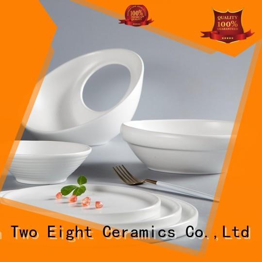 Two Eight irregular crockery set for restaurant manufacturer for dinner