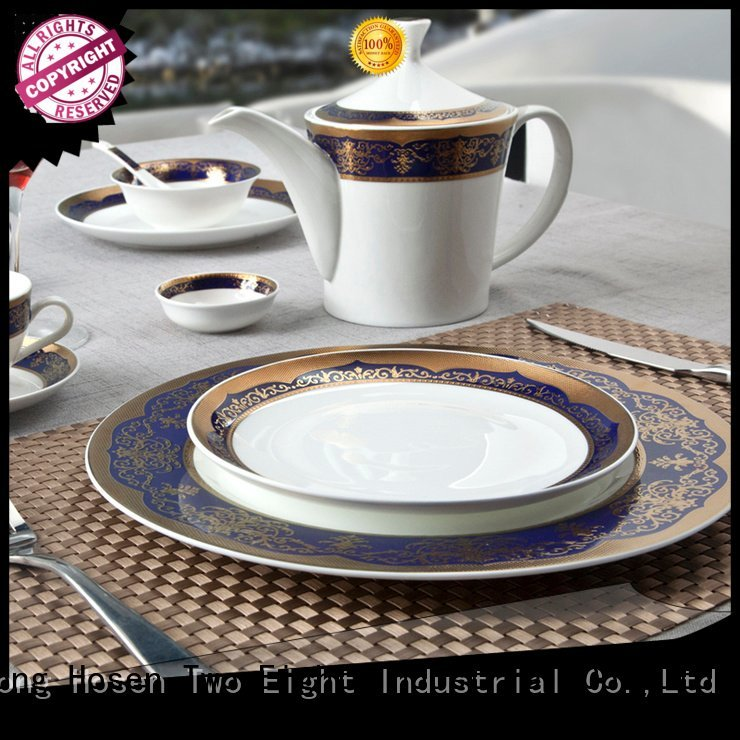 fine white porcelain dinnerware decal fine china tea sets Two Eight