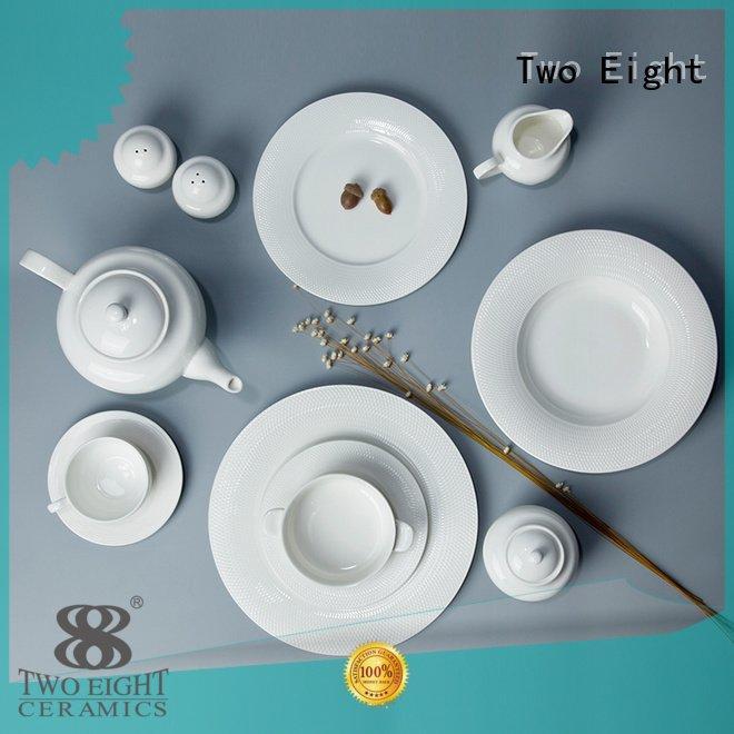 white porcelain tableware irregular color white dinner sets