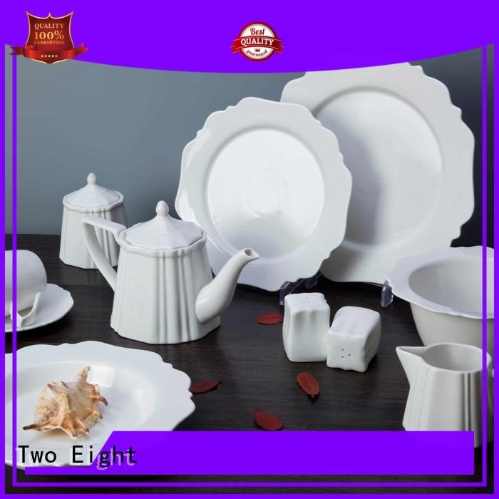 elegant white china dinnerware sets manufacturer for home