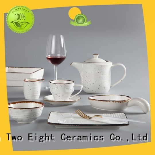 Two Eight german dinnerware sets for business for dinning room