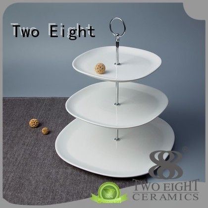 Two Eight Brand royalty square bone china manufacture