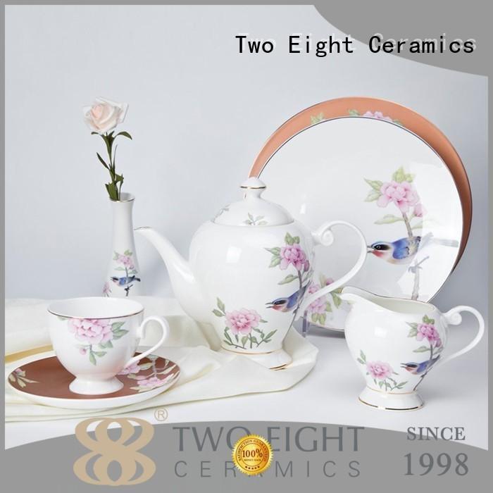 New fine porcelain dinner set company for hotel