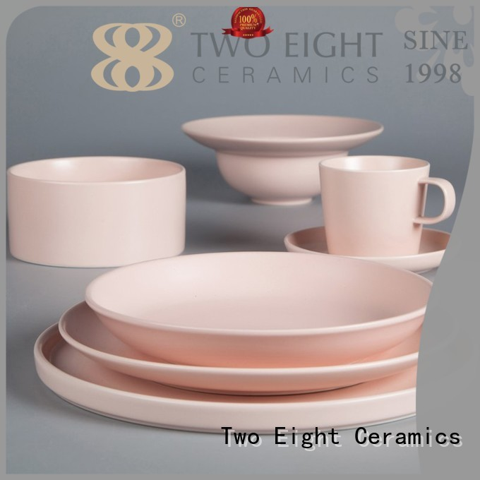 16 piece porcelain dinner set style classic Two Eight Brand two eight ceramics