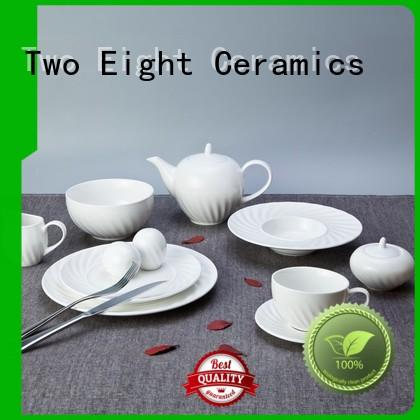 square cheap porcelain dinner plates series for bistro
