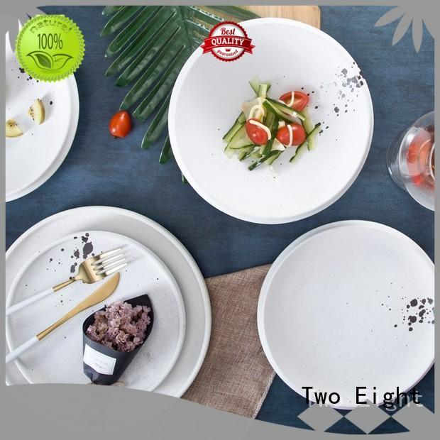 durable restaurant quality plates oragne customized for home