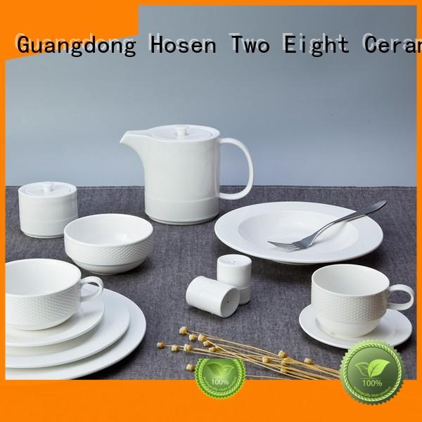 Two Eight stock restaurant grade dinnerware manufacturer for home