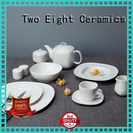 Two Eight smoothly hotel dinnerware wholesale series for dinning room