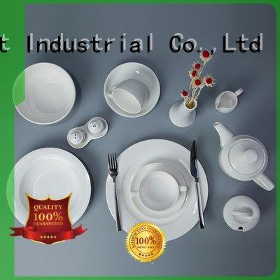 Two Eight Brand dinnerware white smoothly white dinner sets